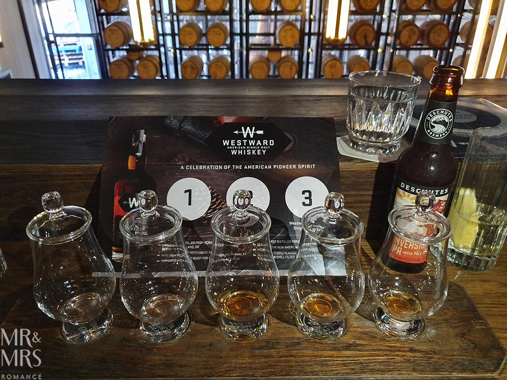 Westward Whiskey masterclass at Archie Rose