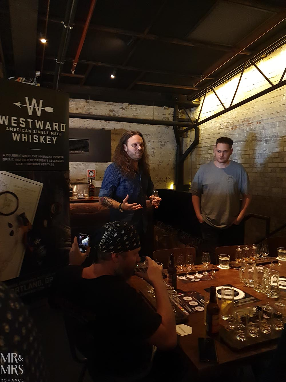 Miles Munroe Westward Whiskey masterclass at Archie Rose