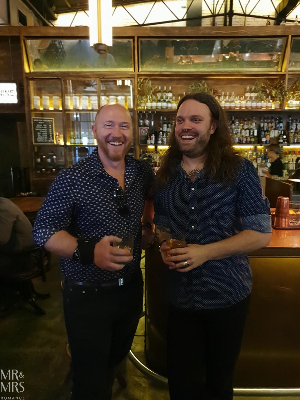 Westward Whiskey masterclass at Archie Rose - Jim & Miles Munroe