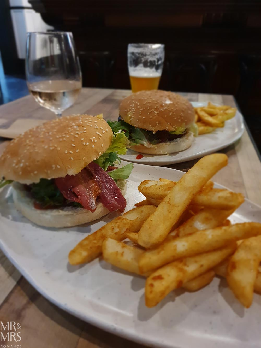 New burger from The Exchange Hotel, Balmain
