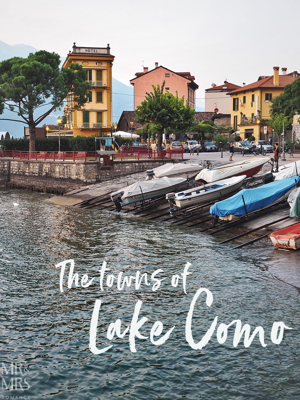 Varenna's fishing boats, waterfront and lakeside wall - Ultimate Guide to Lake Como, Italy