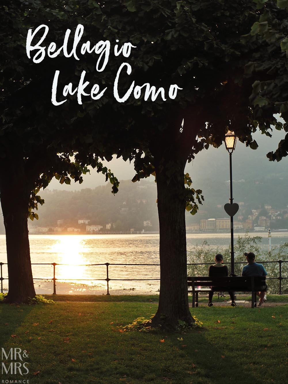Romantic view of Lake Como from the park at the point of Bellagio - Ultimate Guide to Lake Como, Italy