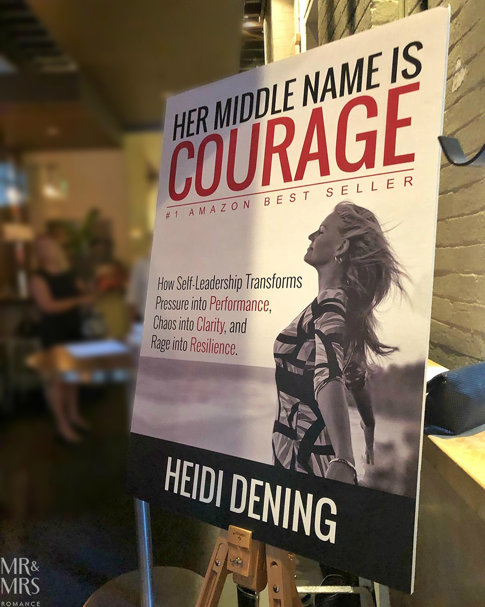 Heidi Dening - Her Middle Name is Courage book launch Tank Stream Bar