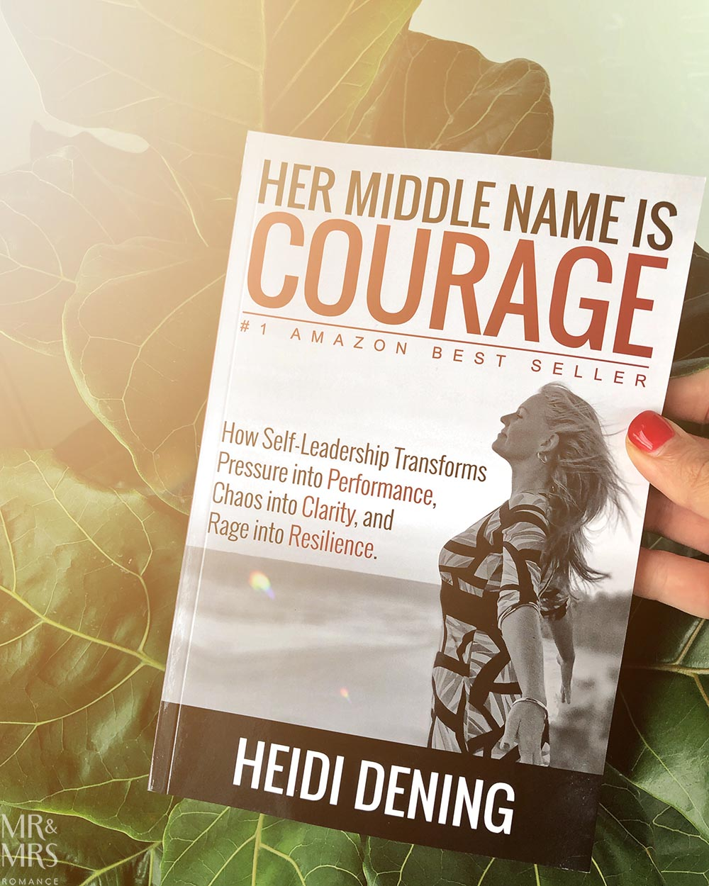 Heidi Dening - Her Middle Name is Courage book launch giveaway