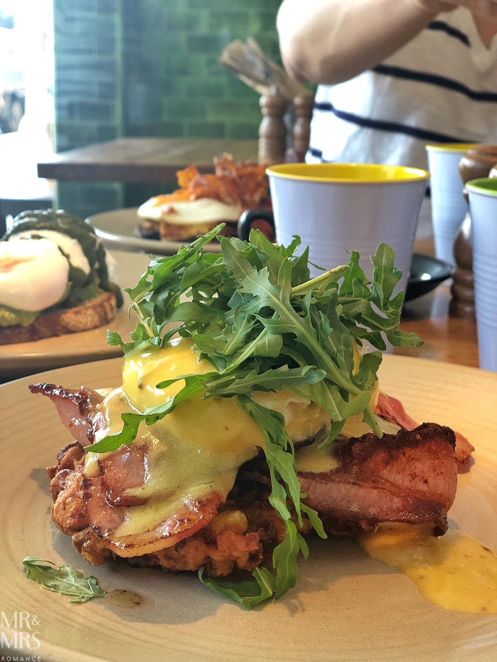 Brunch with Christine Knight at Piccolo's, Rozelle