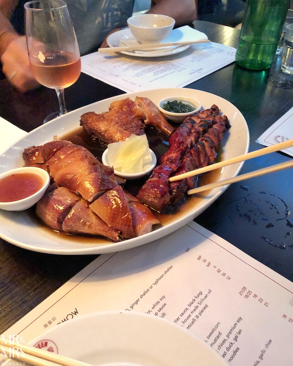 Meat platter Queen Chow, Enmore