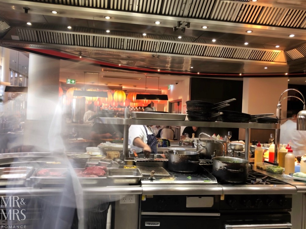 The Ternary Darling Harbour - kitchen grill