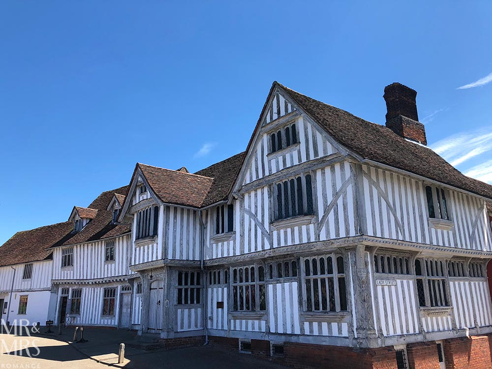 Out of London - Lavenham, Suffolk - Britain's finest Medieval village - Lavenham Guildhall
