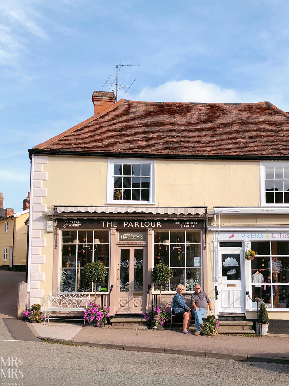 Out of London - Lavenham, Suffolk - Britain's finest Medieval village - Hadley's Ice Cream Parlour