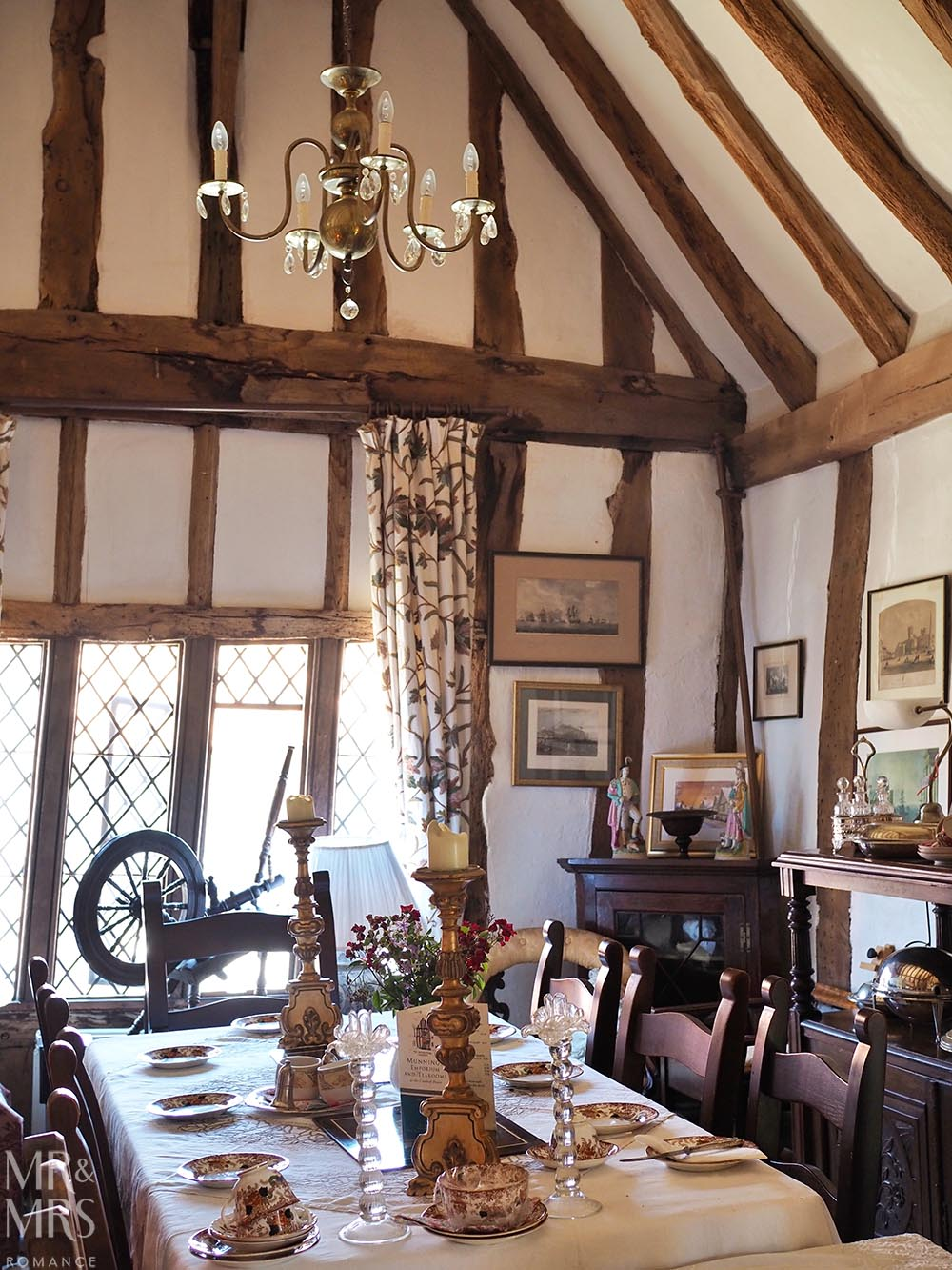 Out of London - Lavenham, Suffolk - Britain's finest Medieval village - Munnings Tea Rooms