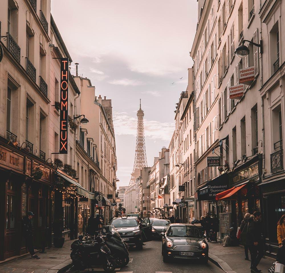 Honeymoon destinations - Paris with B Signature