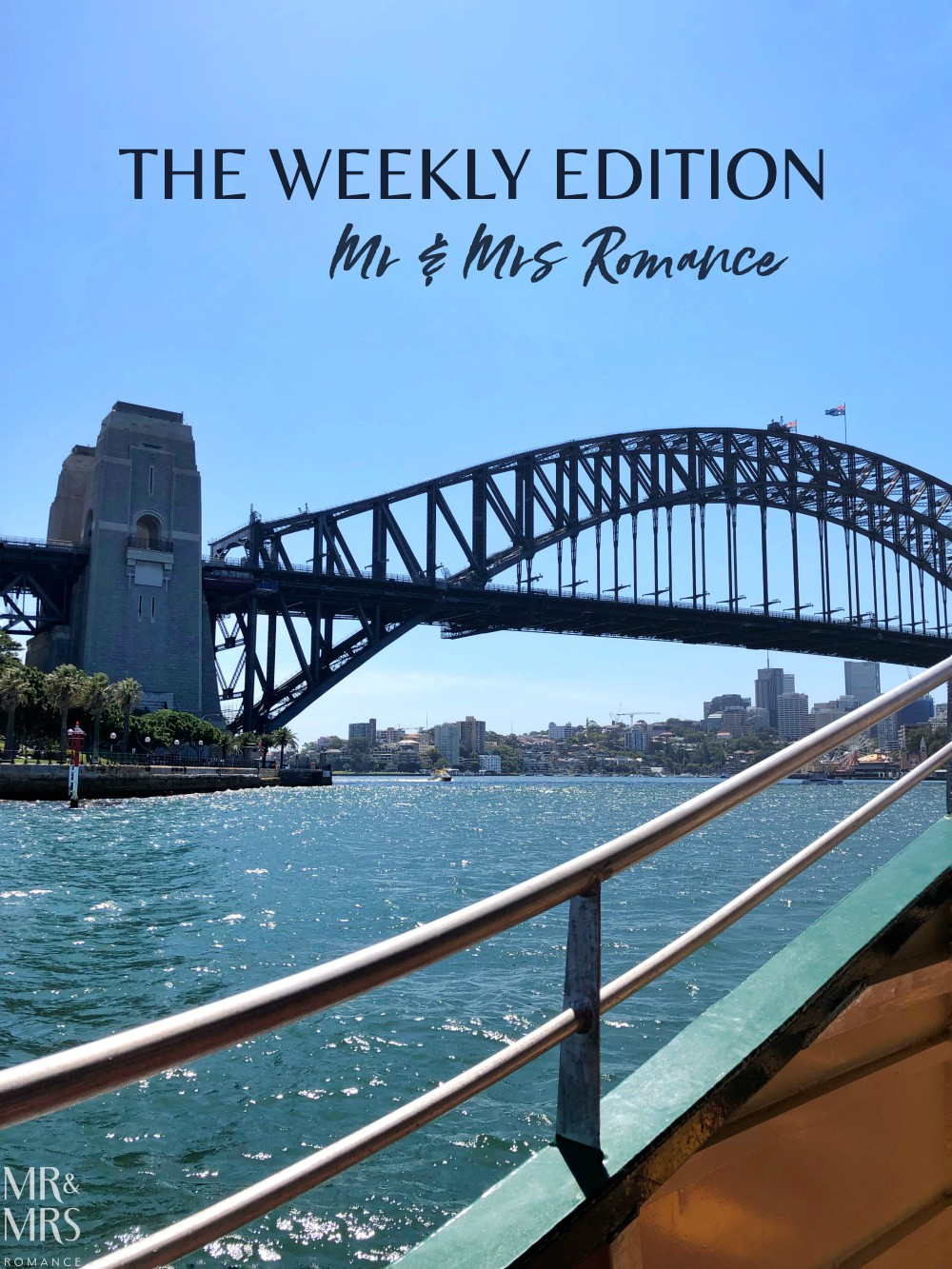 Mr & Mrs Romance - The Weekly Edition - Italy in the Inner West, NatGeo river trips and a day at the beach