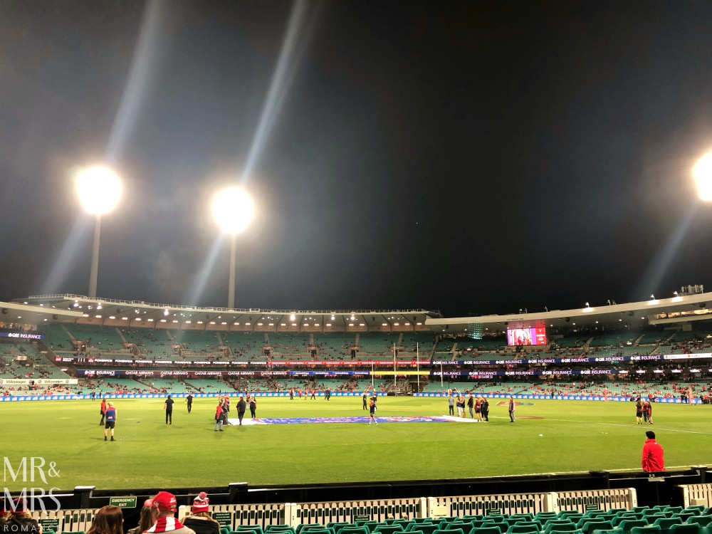Sydney Swans vs MFC at SCG