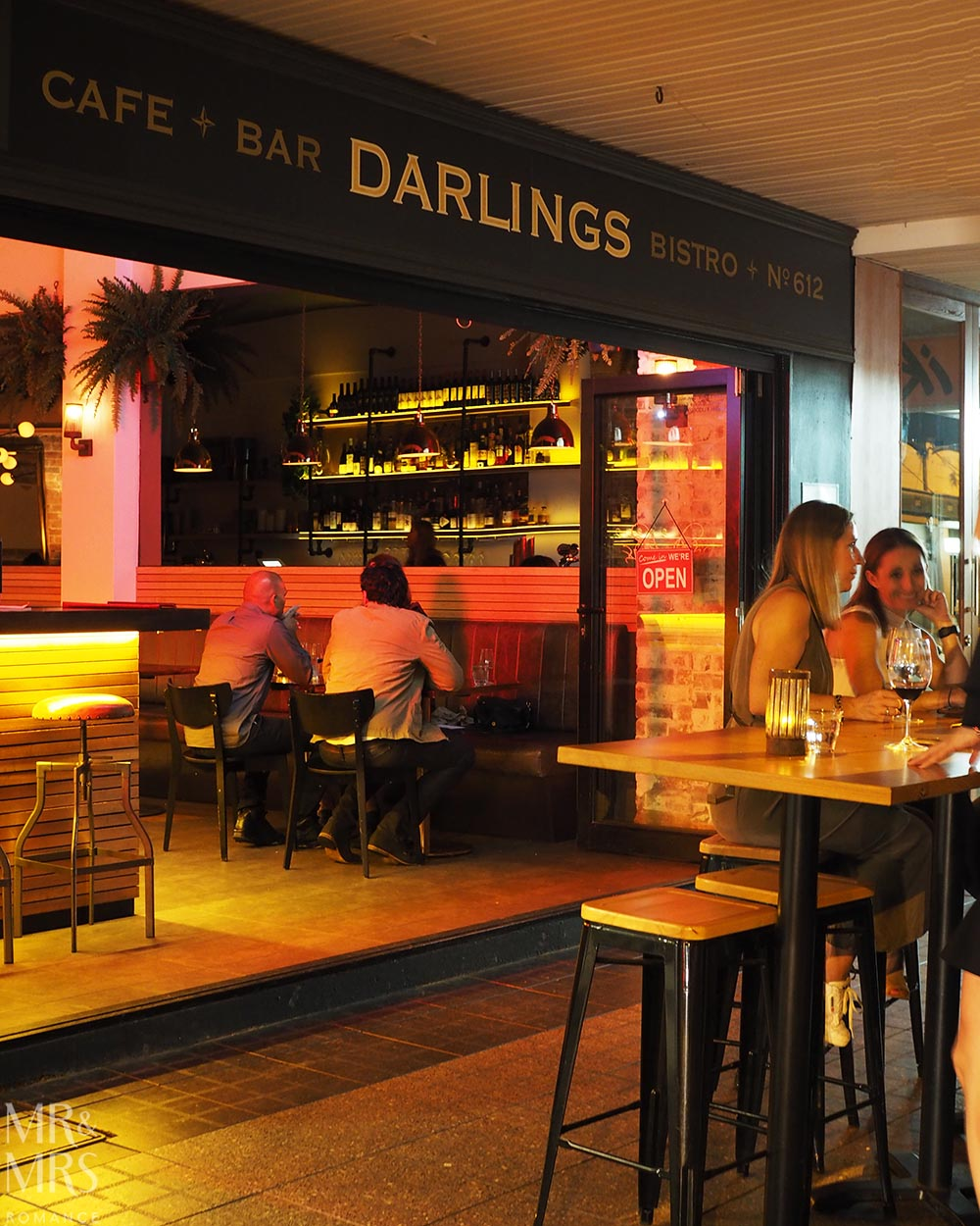 Darlings Bistro, Cafe and Bar, Rozelle frontage