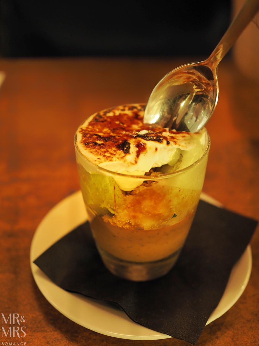 ReccoLab Rozelle - Sydney restaurant review - cremolato dessert