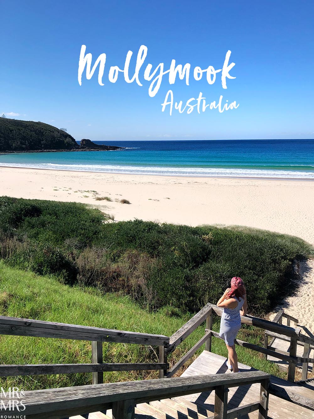 Rick Stein at Bannisters Mollymook, NSW - Mollymook Beach and headland