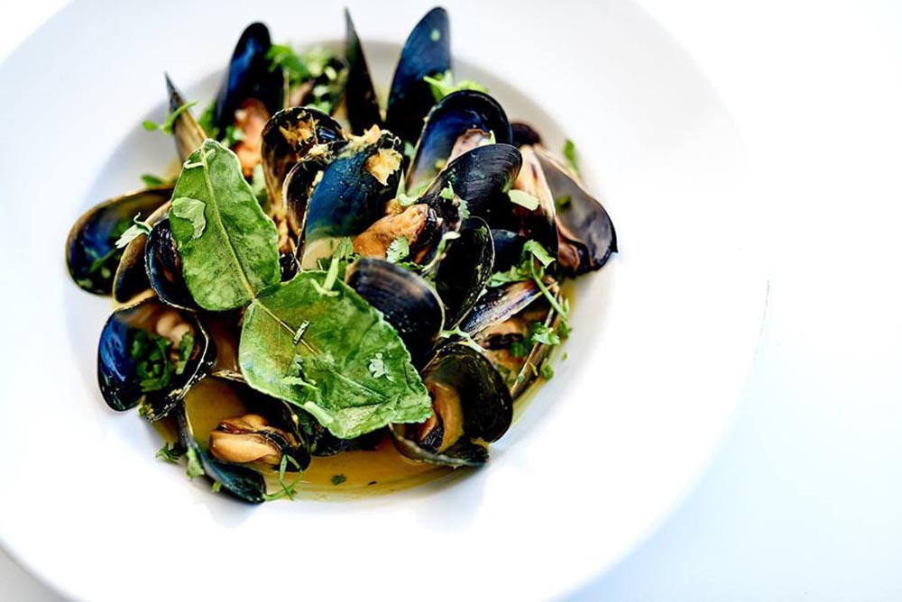 Rick Stein at Bannisters Mollymook, NSW - mussels
