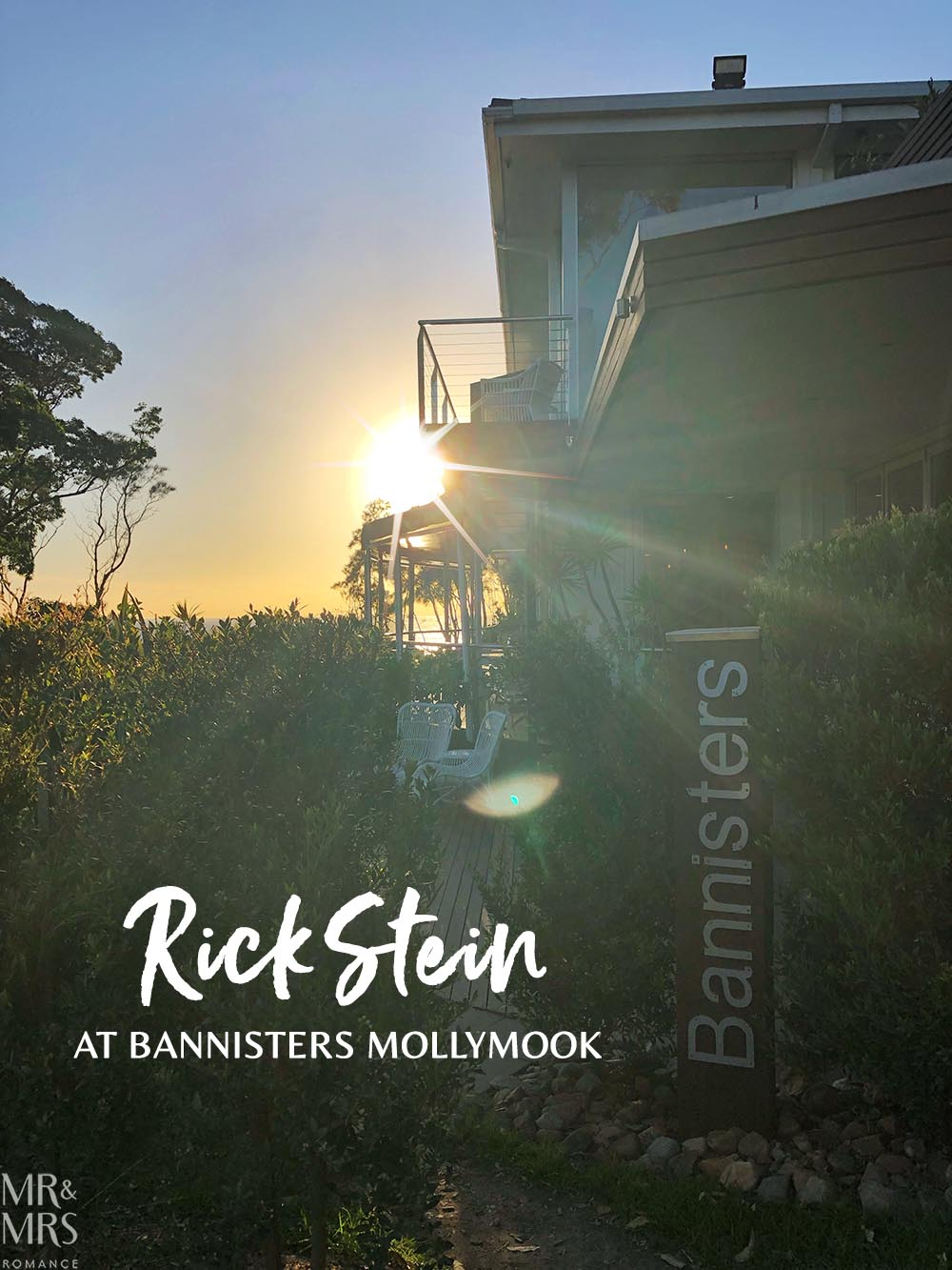 Rick Stein at Bannisters Mollymook, NSW