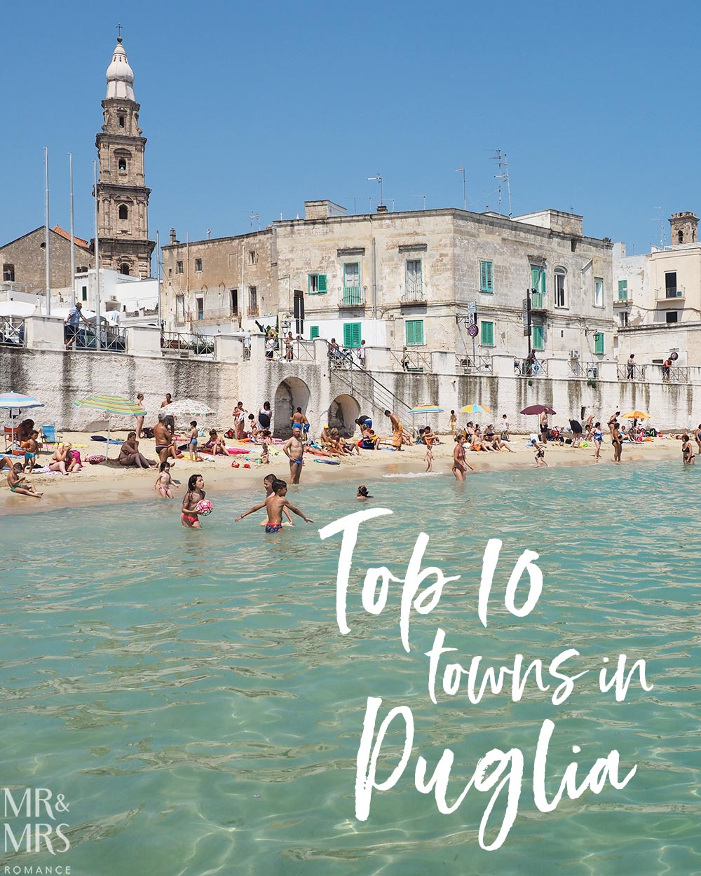 Top 10 towns of Puglia, Italy