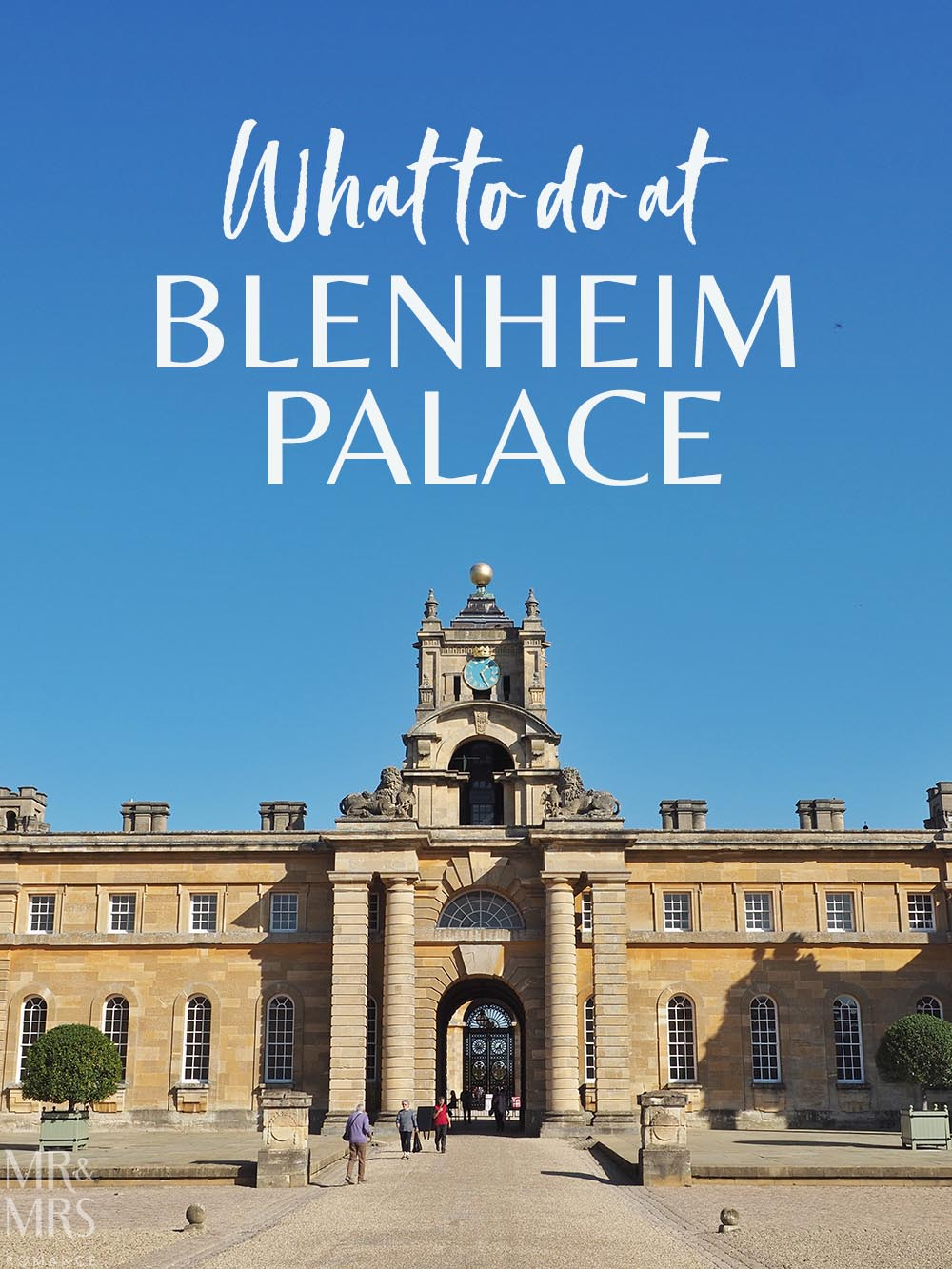 What to do at Blenheim Palace England