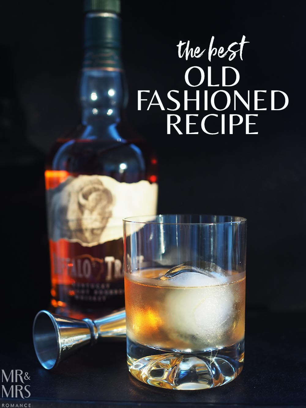 Olf Fashioned whisky cocktail - Buffalo Trace