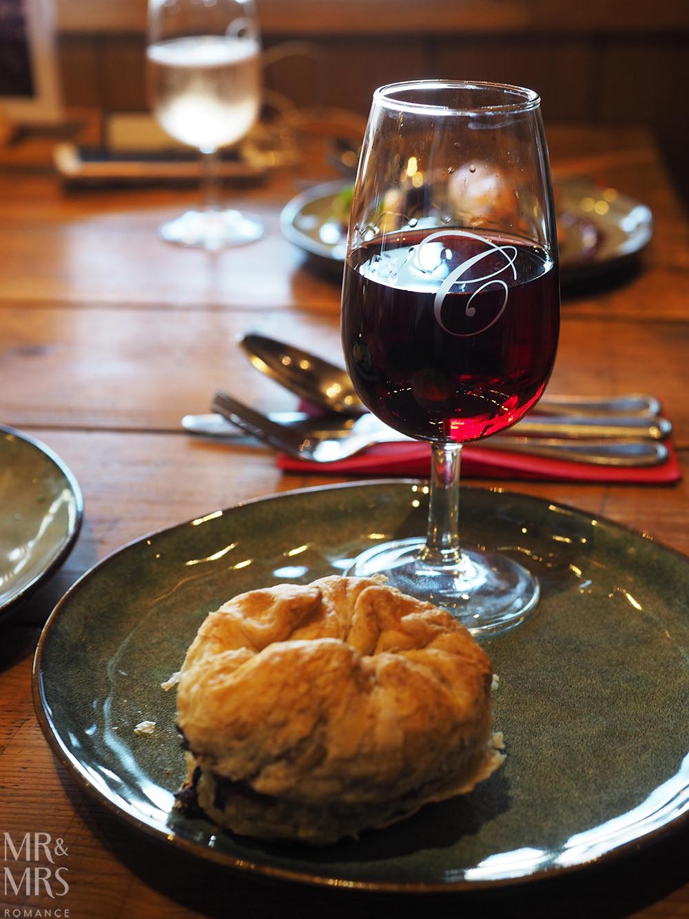 Pie Time Southern Highlands NSW - Centennial Vineyards pie and pinot