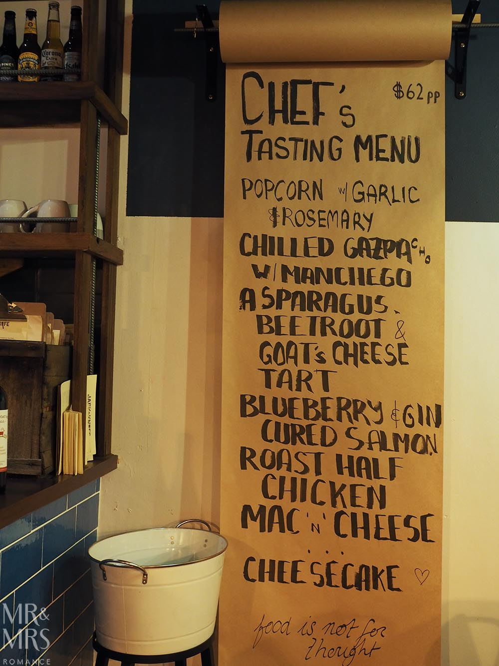 Jack & Knife, Darlinghurst - chef specials