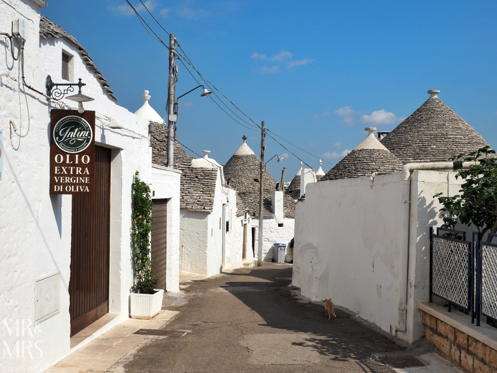 How to travel around Puglia - Alberobello trulli