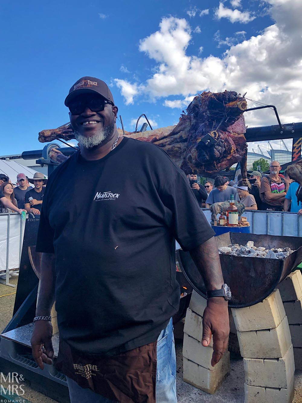 Meatstock Sydney - Buffalo Trace Bourbon - Big Moe Cason