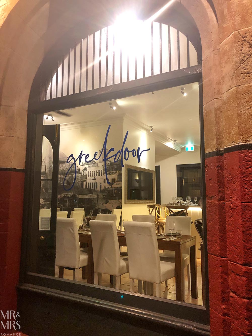 Greek Door restaurant, Balmain East