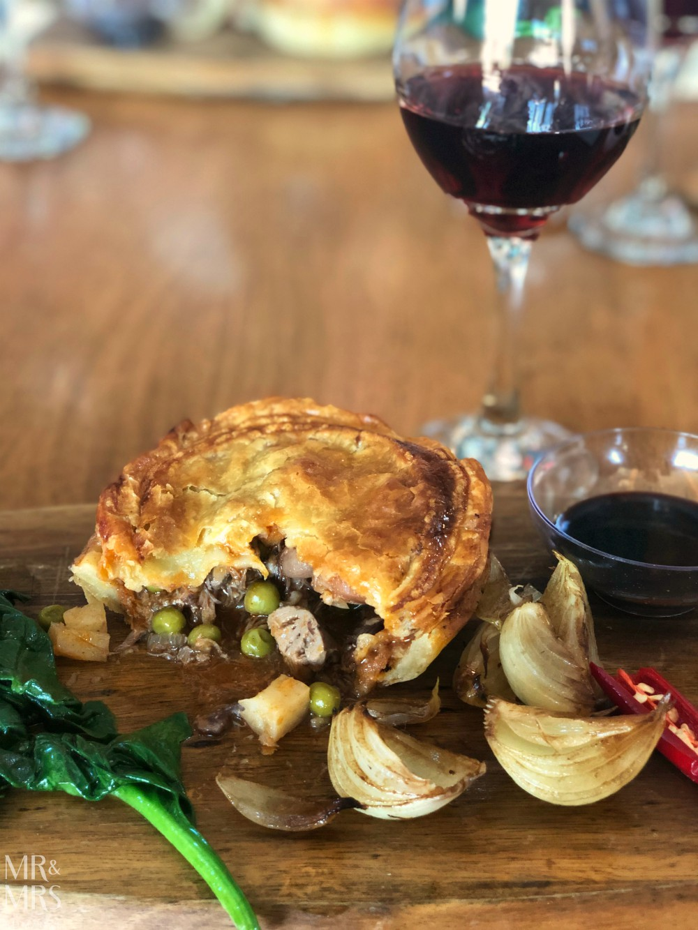 Southern Highlands Winery rabbit pie