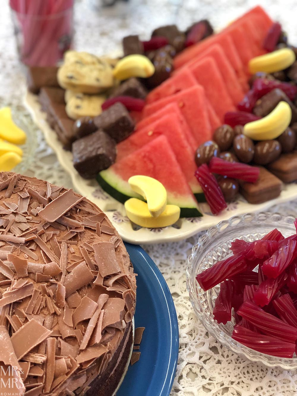 Weekly Edition - birthday cake and Mother's Day plate