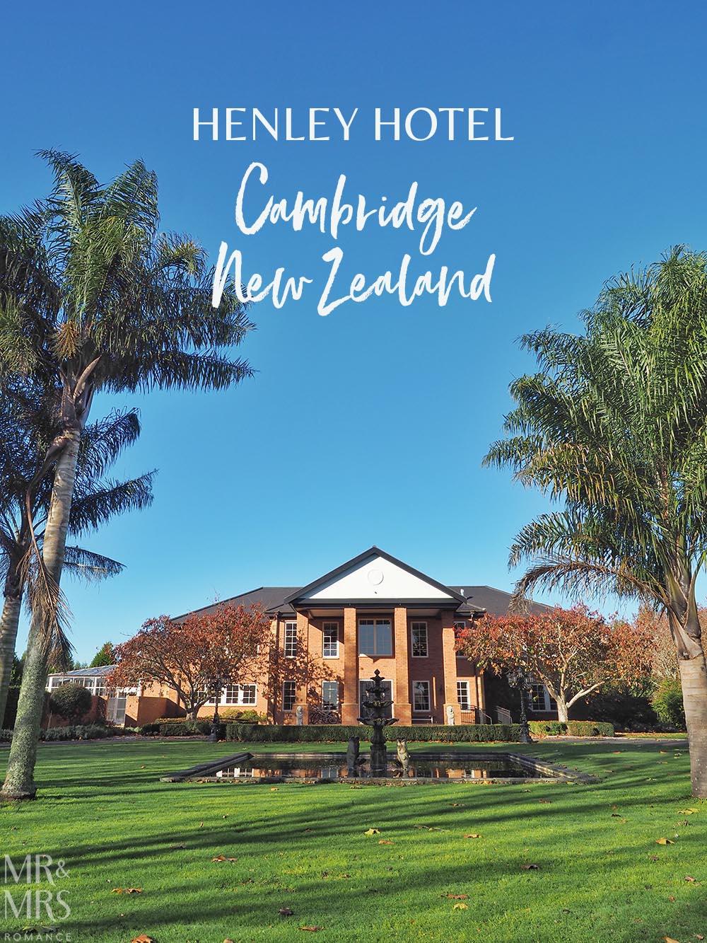 Henley Hotel, Cambridge, New Zealand