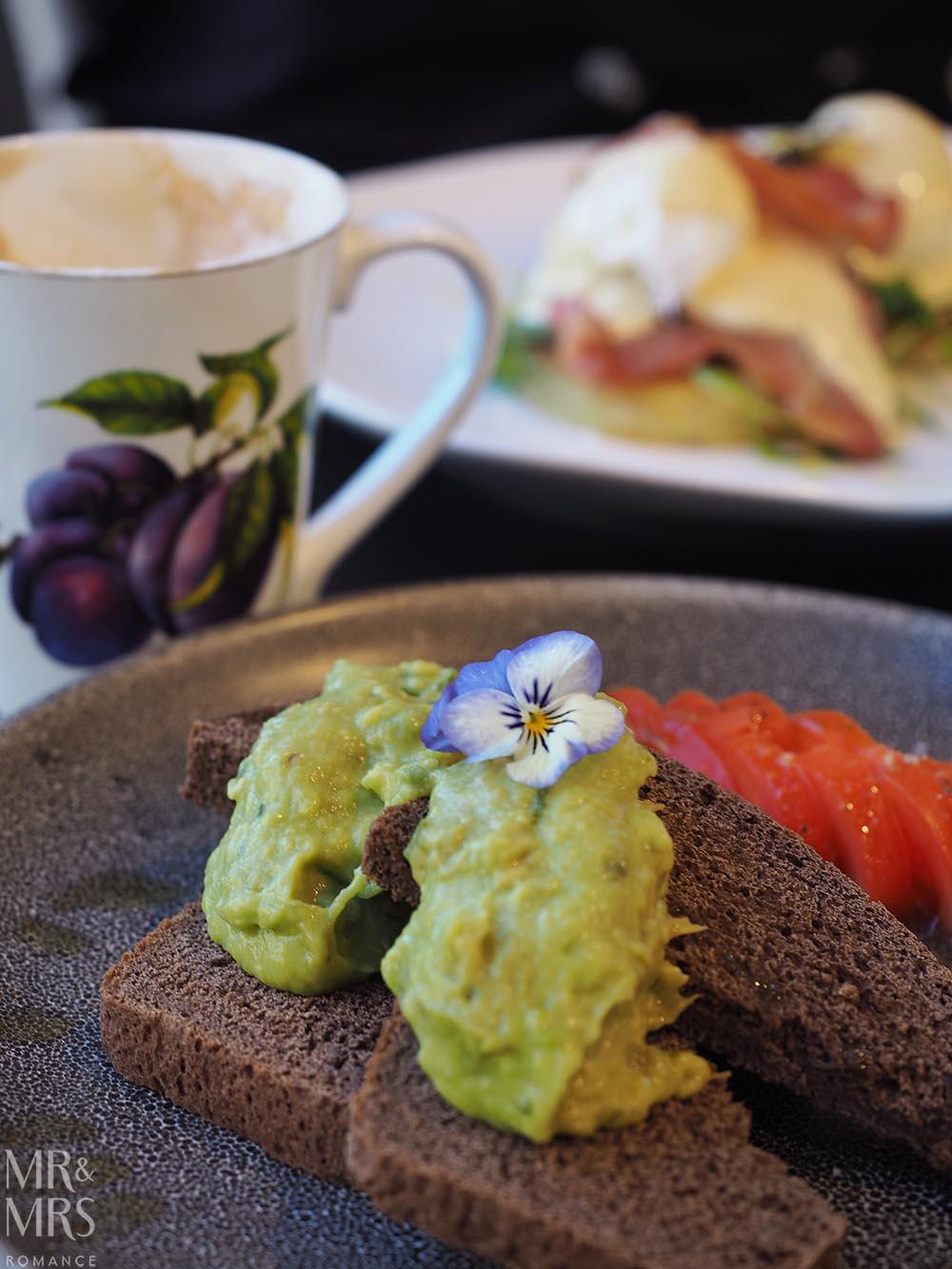 Henley Hotel - avocado on toast