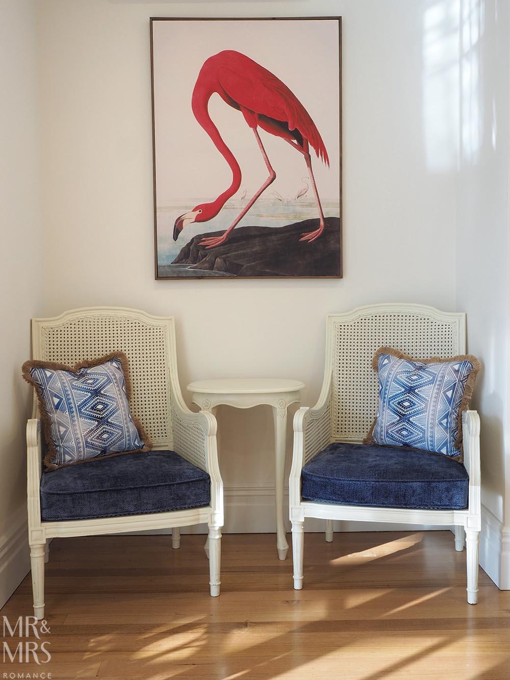 Henley Hotel - flamingo painting