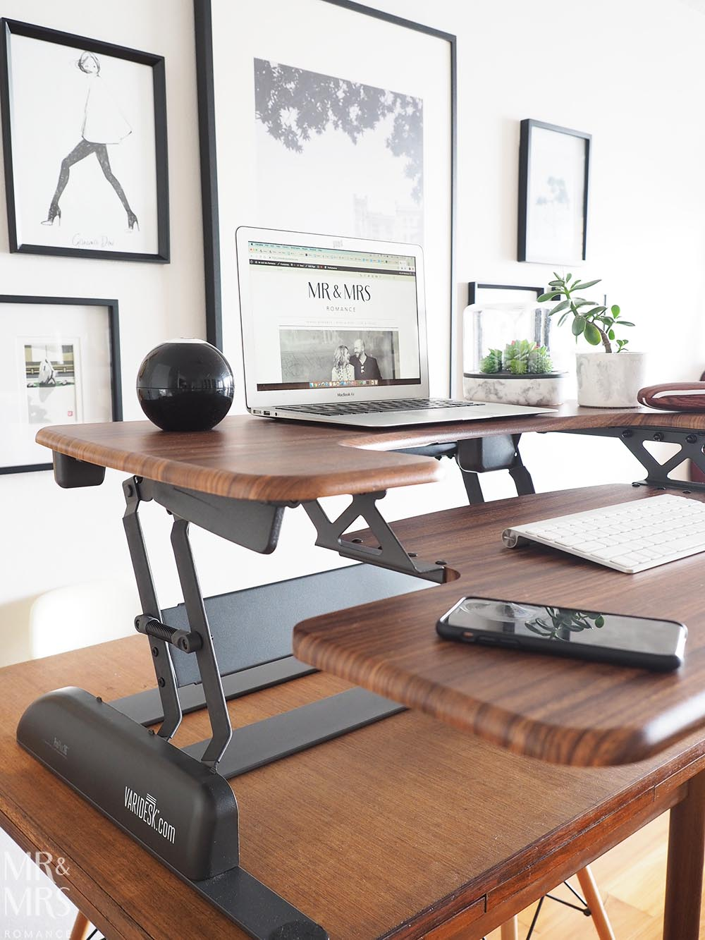 Varidesk - working from home office