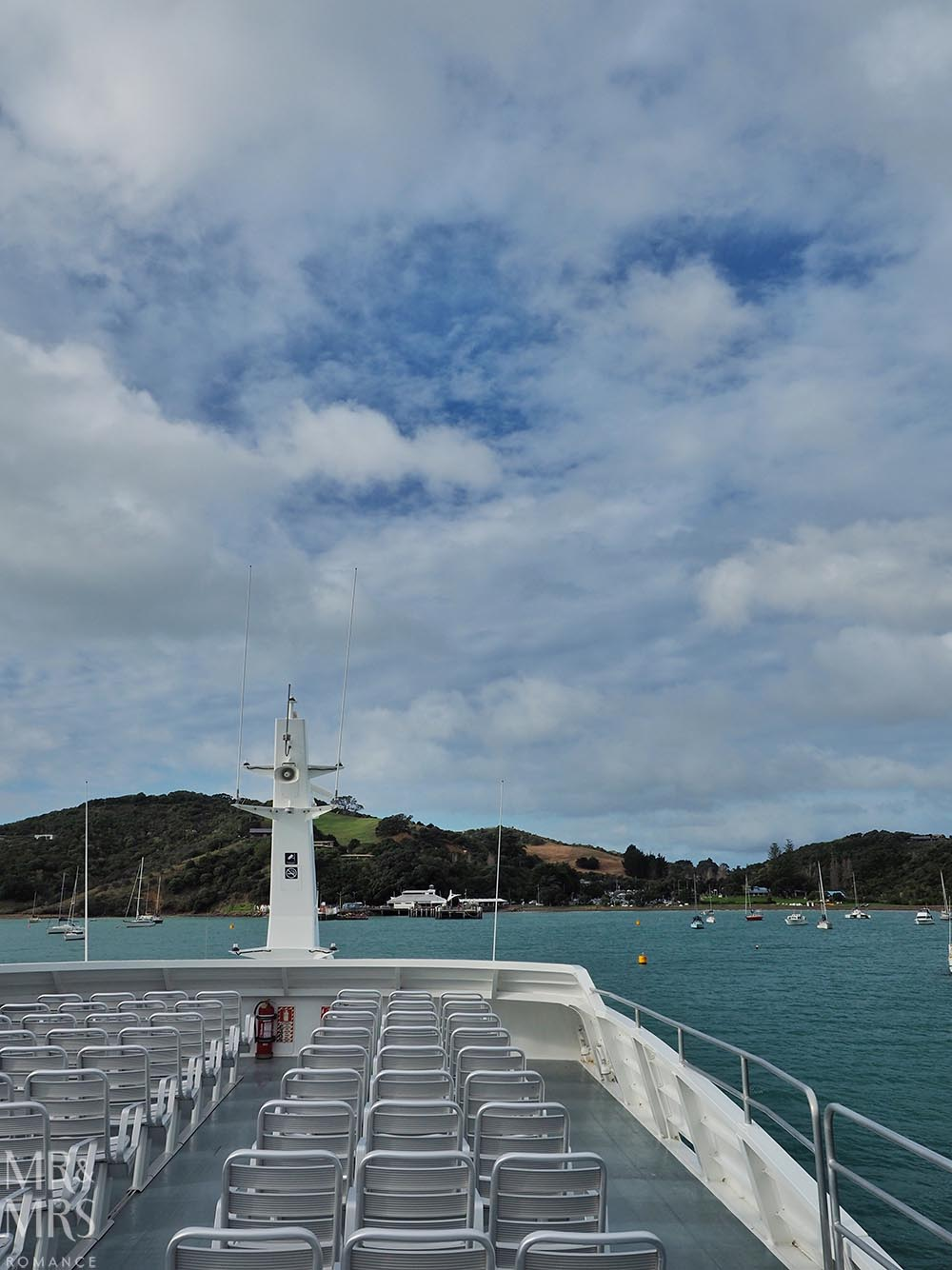 Ferry to Waiheke Island, NZ
