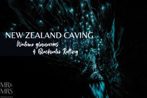 New Zealand caving – Waitomo glowworms and Blackwater Rafting