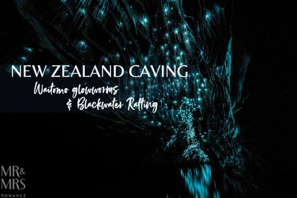 New Zealand Waitomo glowworm cave and Blackwater Rafting