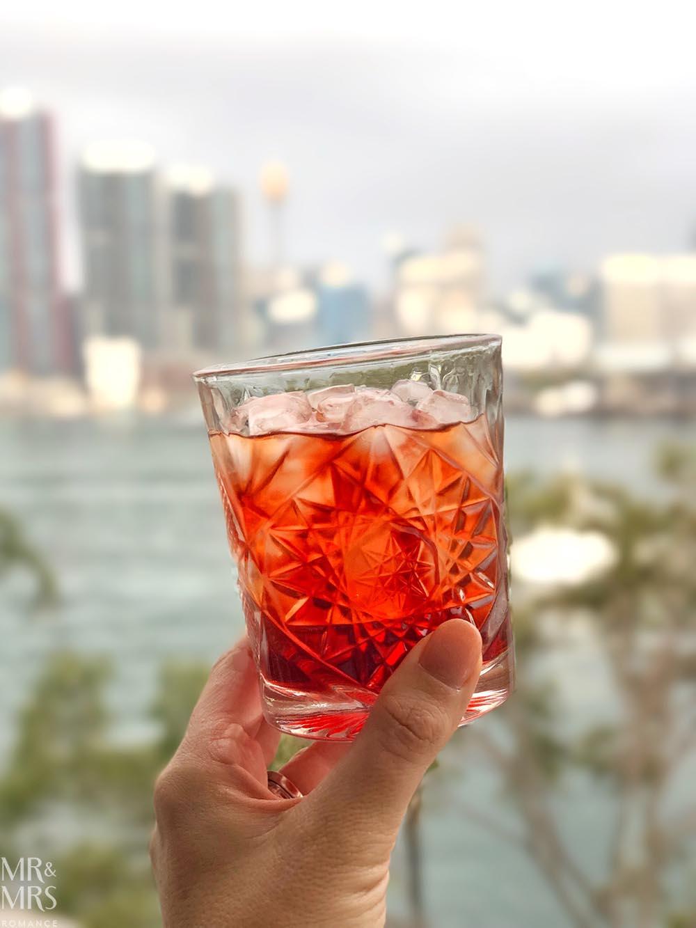 Underground gin - negroni on World Gin Day
