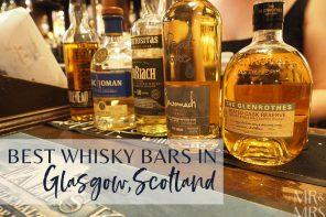 5 top whisky bars in Glasgow, Scotland