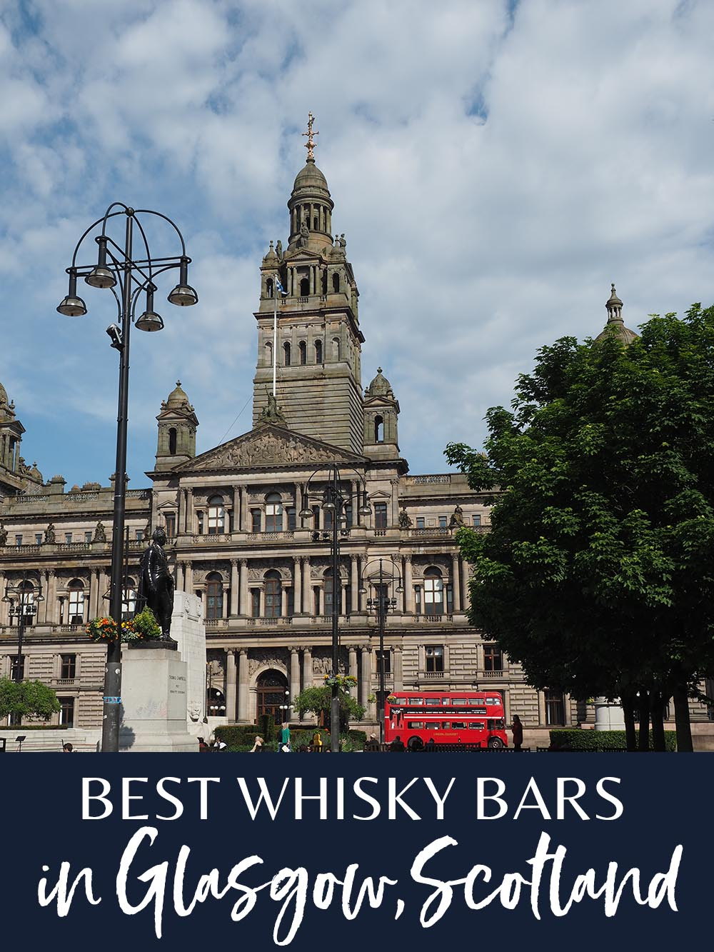 Whisky bars in Glasgow