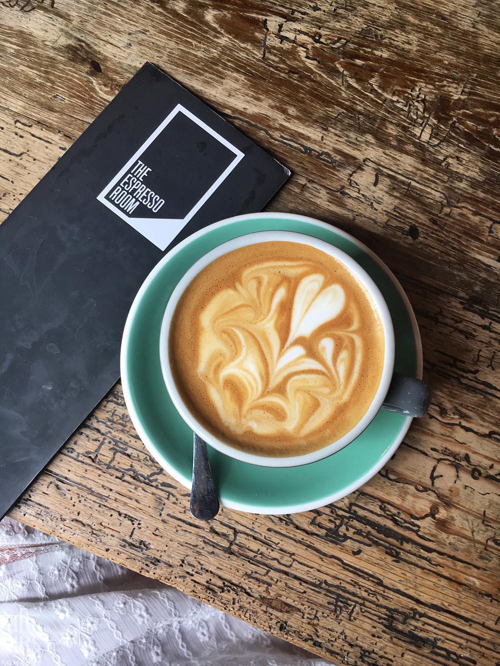 Flat white coffee - Espresso Room Holborn