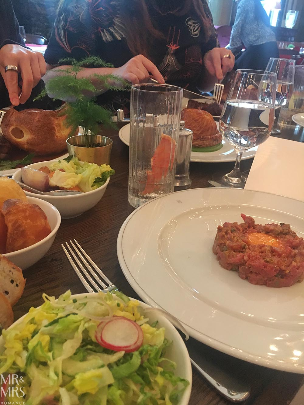 Lunch at Holborn Dining Room London