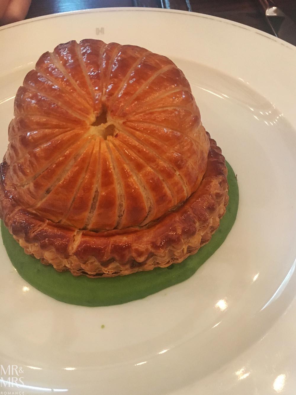 Potato Comte pie at Holborn Dining Room London