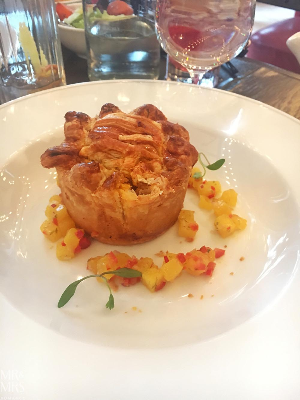 Curried Mutton Pie at Holborn Dining Room London