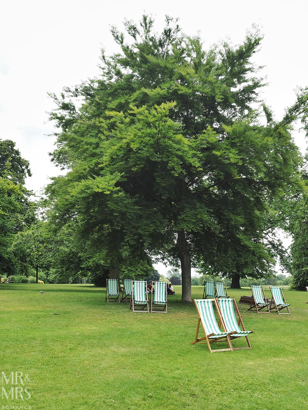 Hyde Park London Deck Chairs