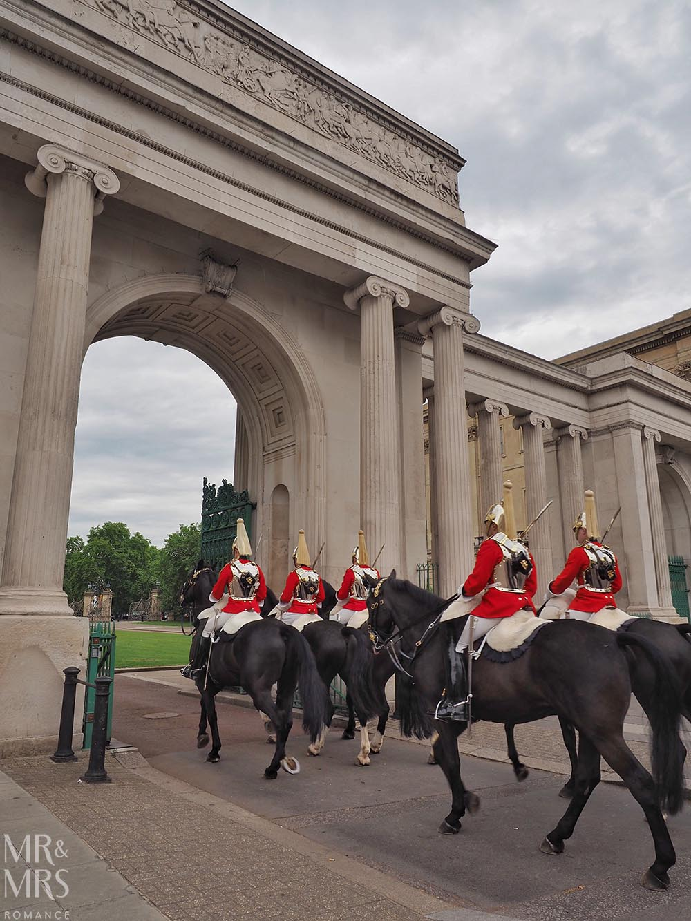 Queens Horse Guards Hyde Park London