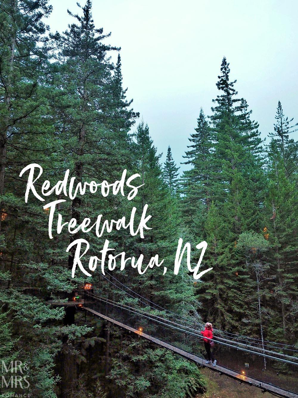Redwoods Treewalk, Rotorua, New Zealand