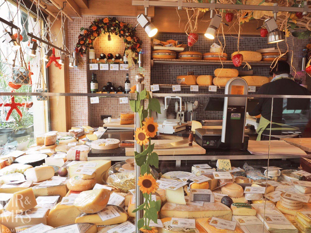 Bruges, Belgium - cheese shop
